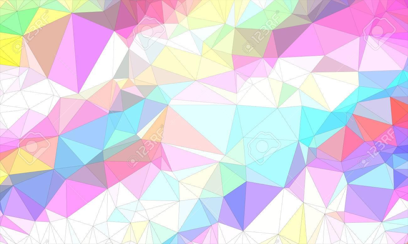 Poly Faible Conception De Fond En Motif Geometrique Papier Peint