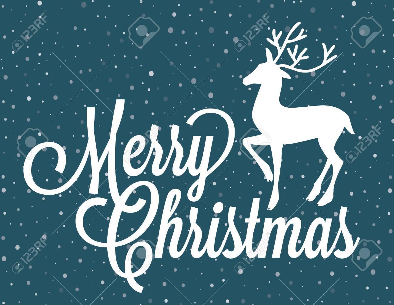 Frohe Weihnachten Brief.Stock Photo