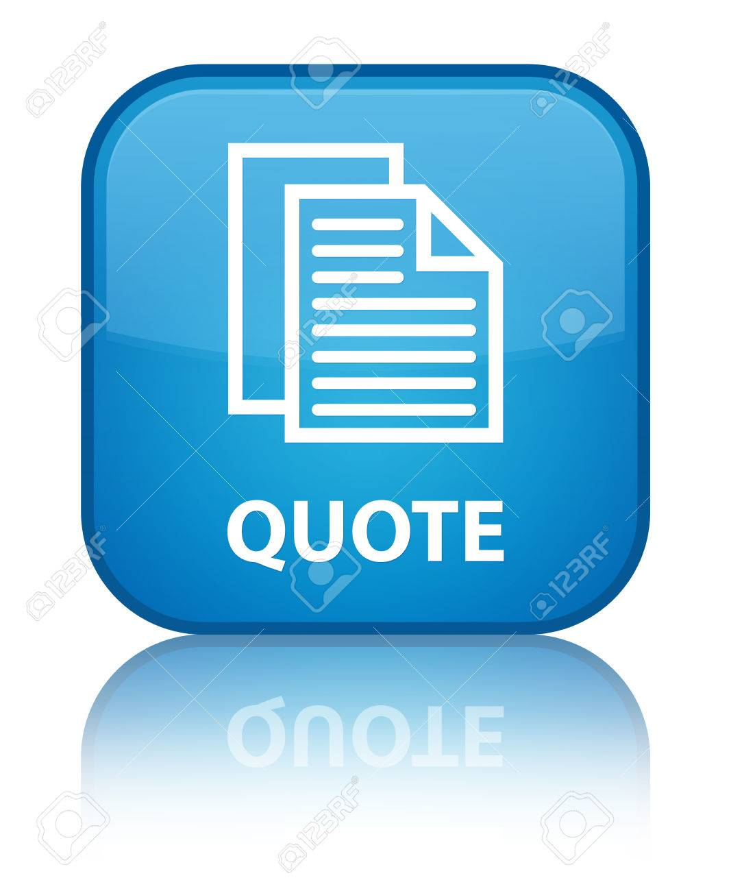 quote document pages icon cyan blue square button stock photo quote document pages icon cyan blue square button stock photo 37751726