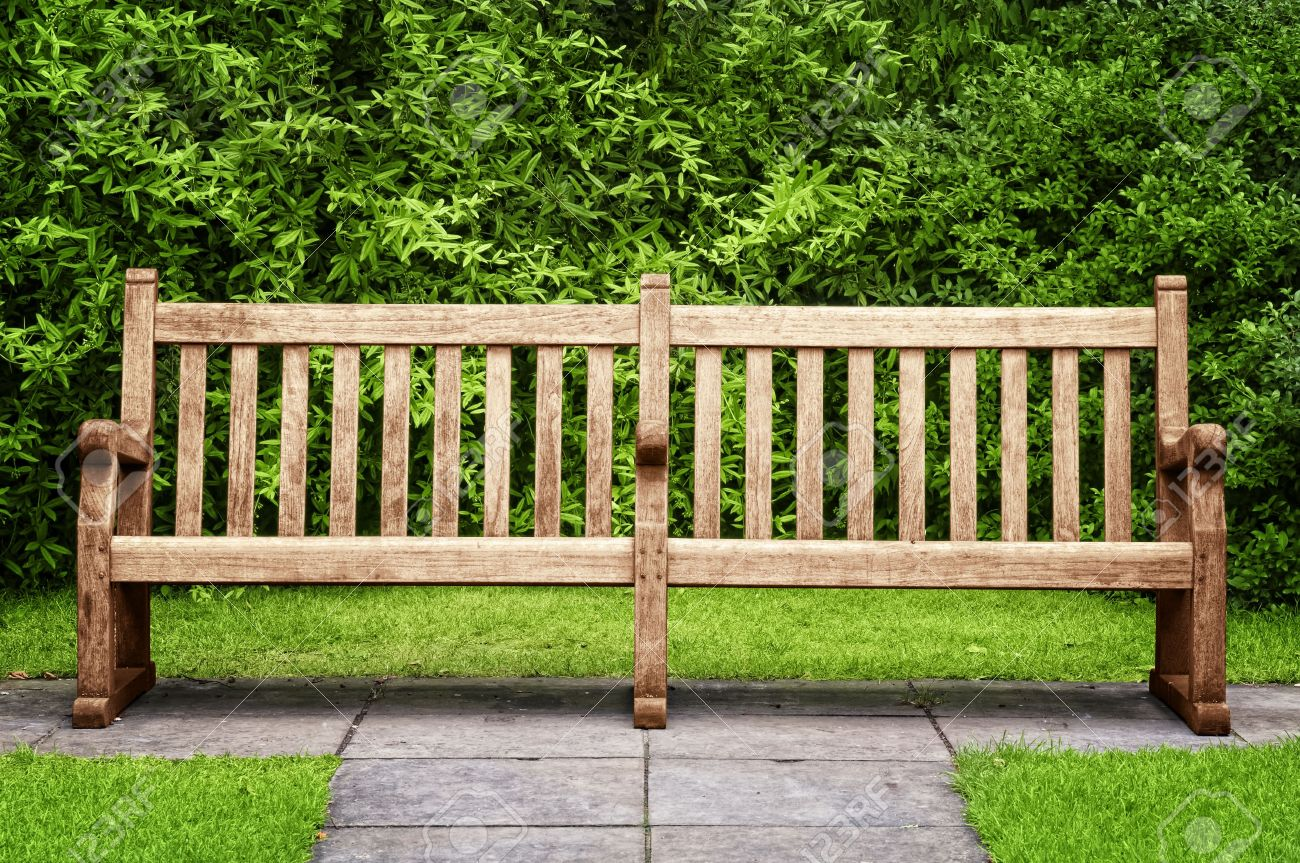 Park Bench In Hyde Park, London. Stock Photo, Picture And Royalty ...