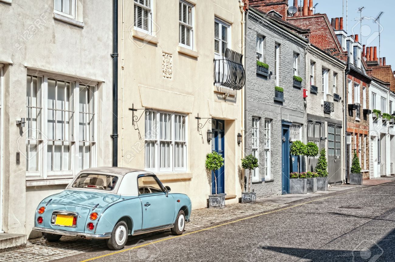Cosy Mews Houses In Chelsea London England Uk Stock Photo Picture And Royalty Free Image Image 7948887