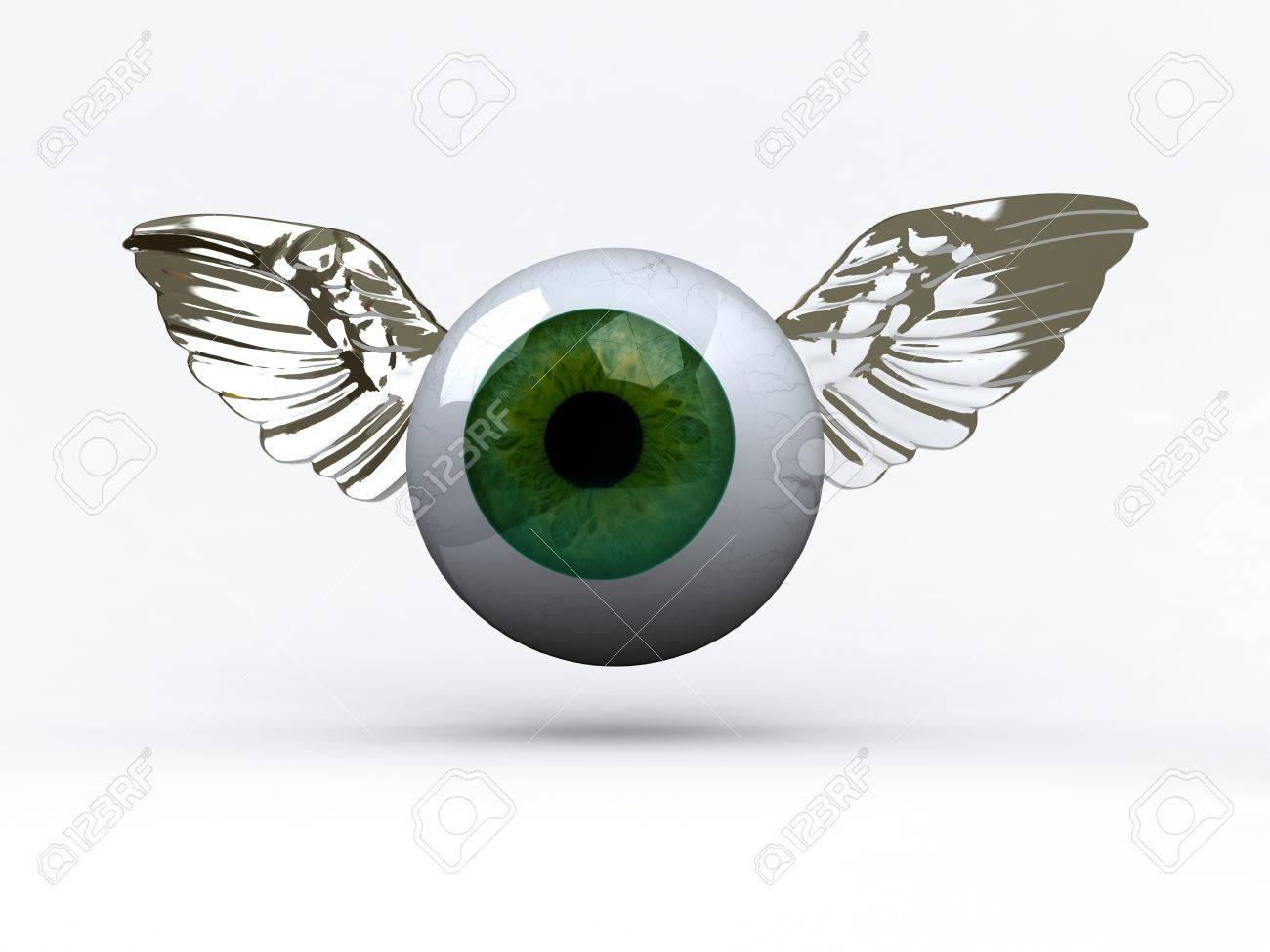 Groß Auge Anatomie 3d Zeitgenössisch - Anatomie Von Menschlichen ...