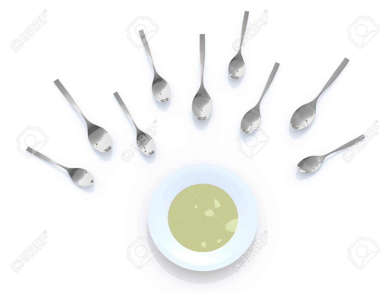 Sperma löffel