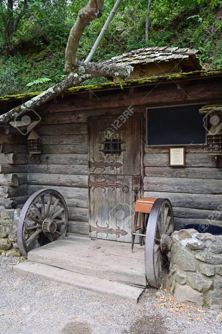 Santa Barbara, California - May 18, 2019 Historical Cold Spring Tavern on Stagecoach Road. - 137105966