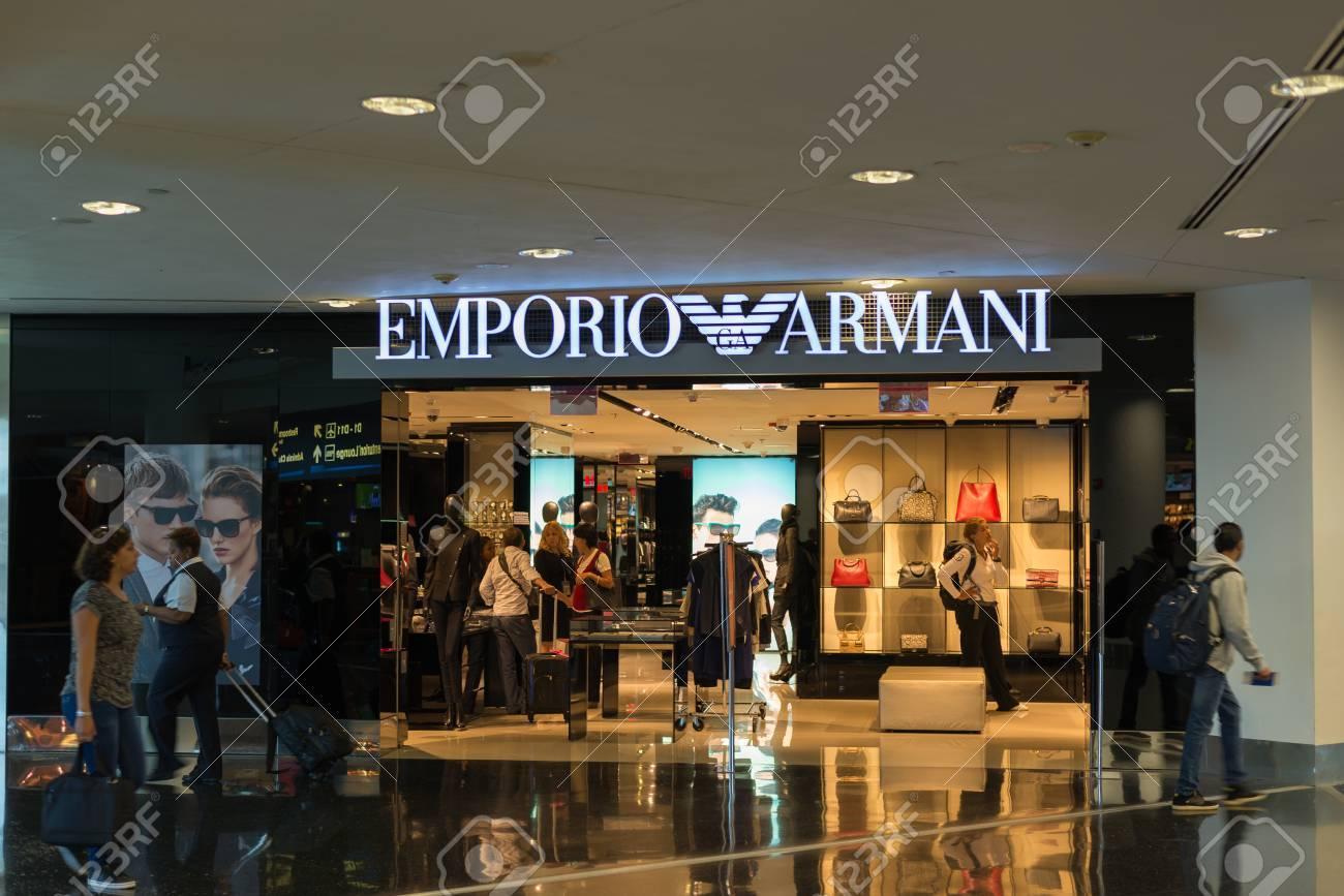 e9f2562bc Miami, U.S.A. - September 12, 2015: Emporio Armani store at Miami..