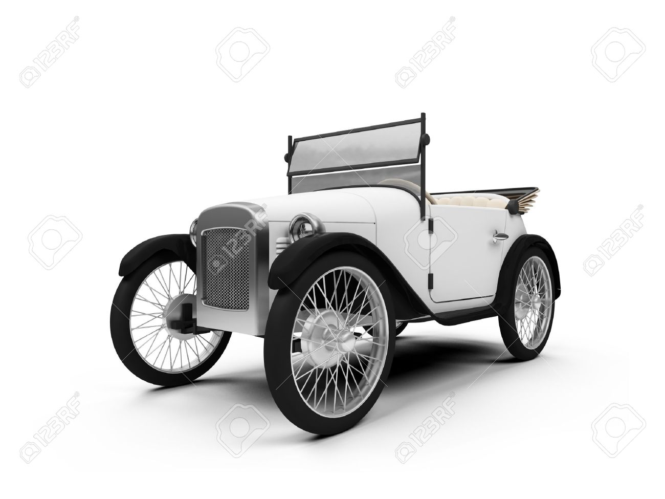 Antique Cars Stock Vector Illustration And Royalty Free