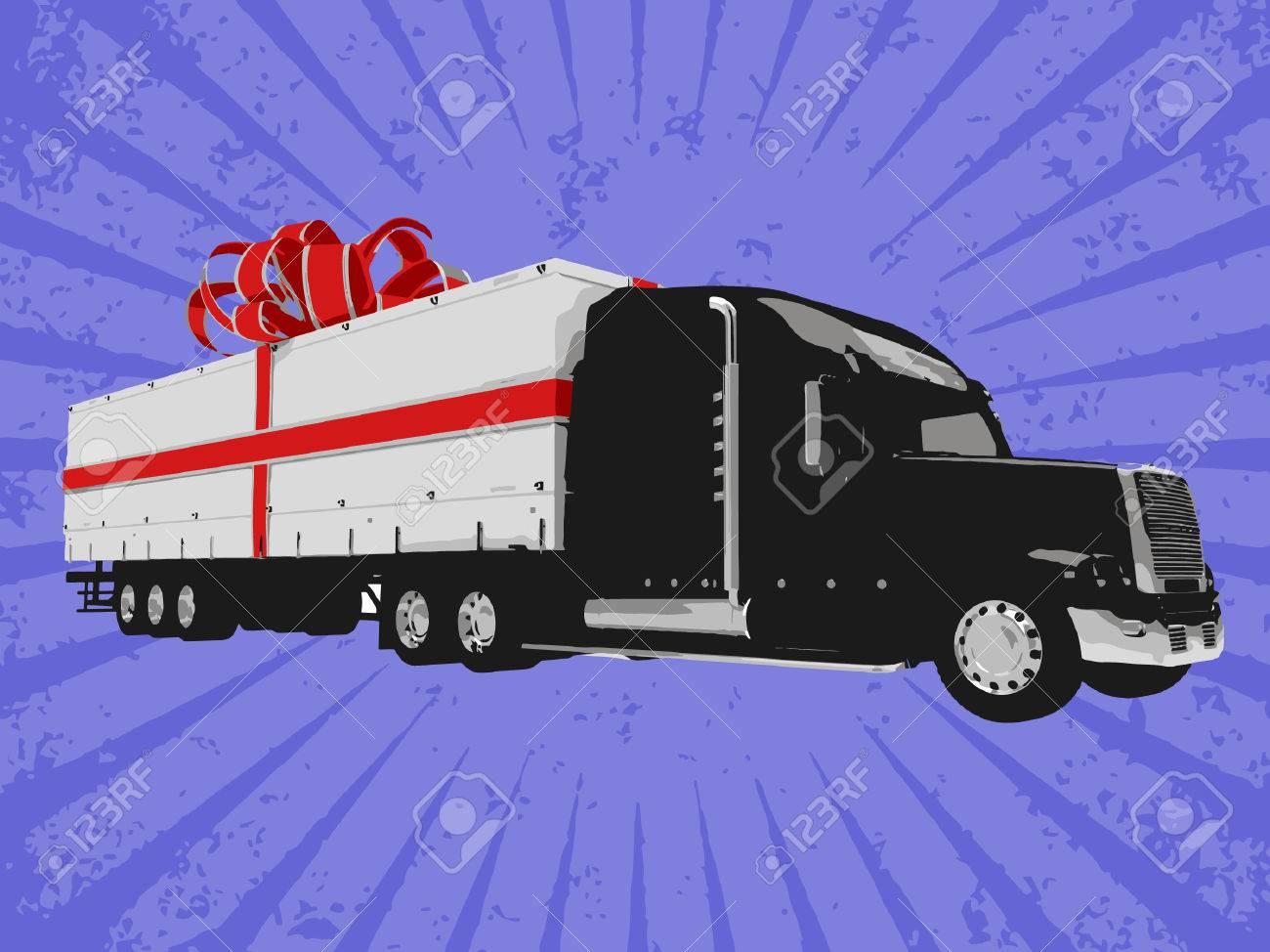 Vector surprise truck Stock Vector - 6454221