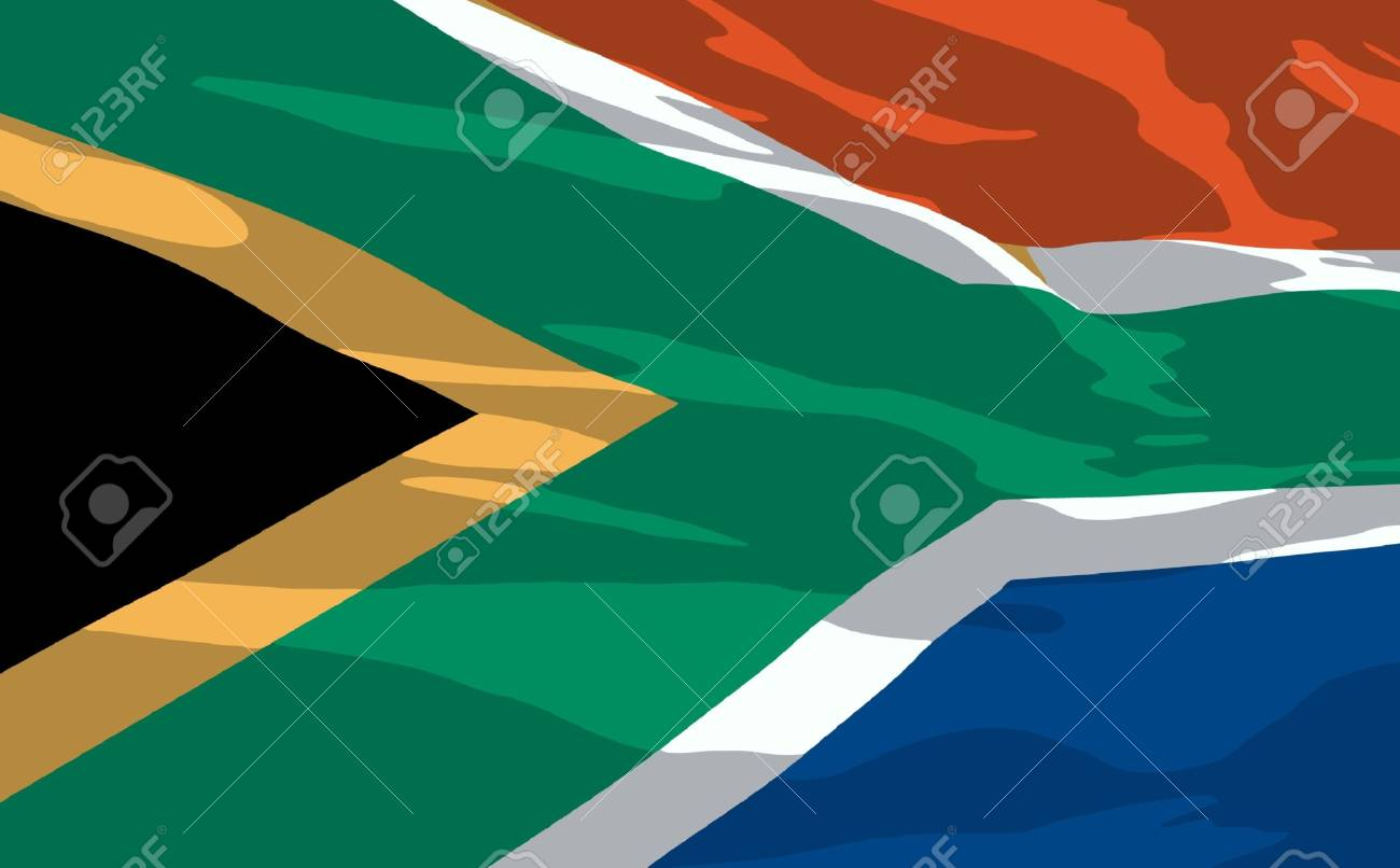 flag of South Africa Stock Vector - 6968037