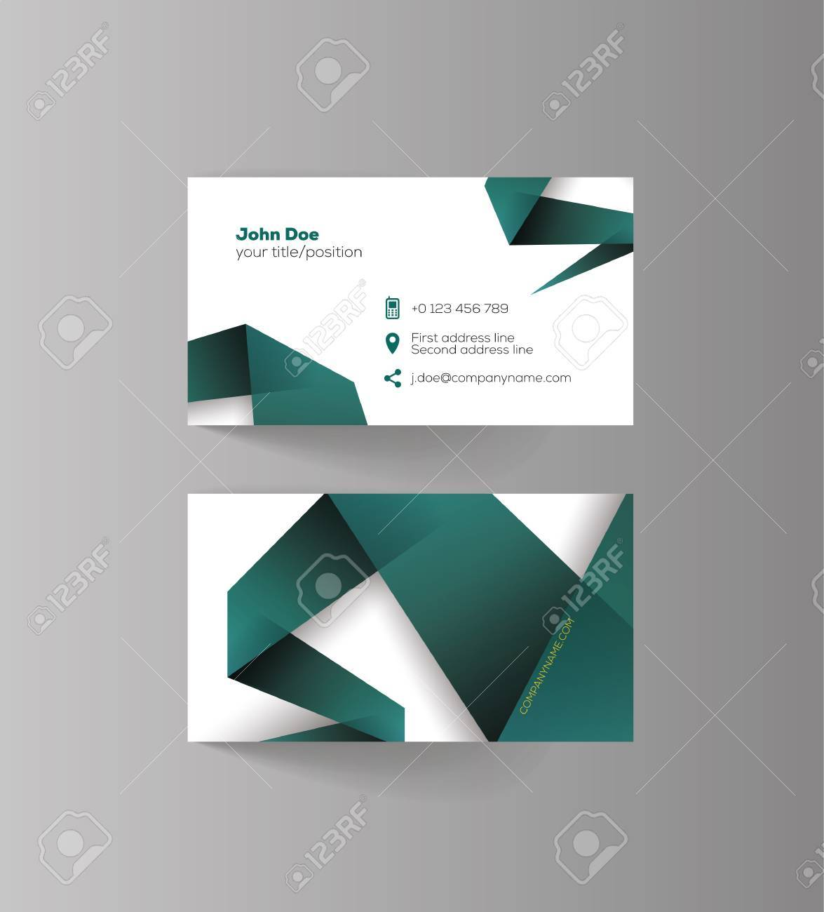 Business Card Design Idea For Your Company