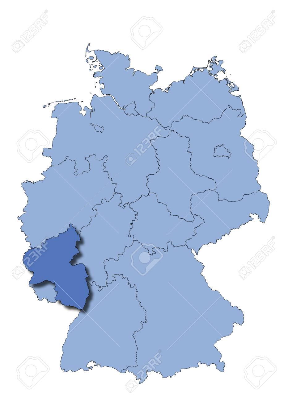 Germany Rheinland Pfalz Royalty Free Cliparts Vectors And Stock