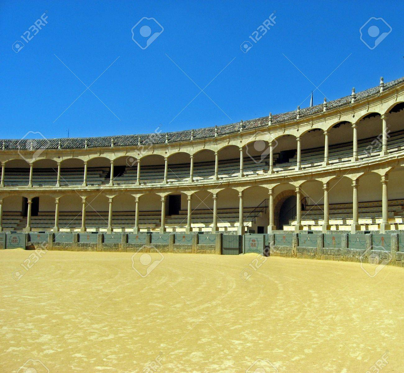 arena where bullfighting takes place in spain Stock Photo - 9084749