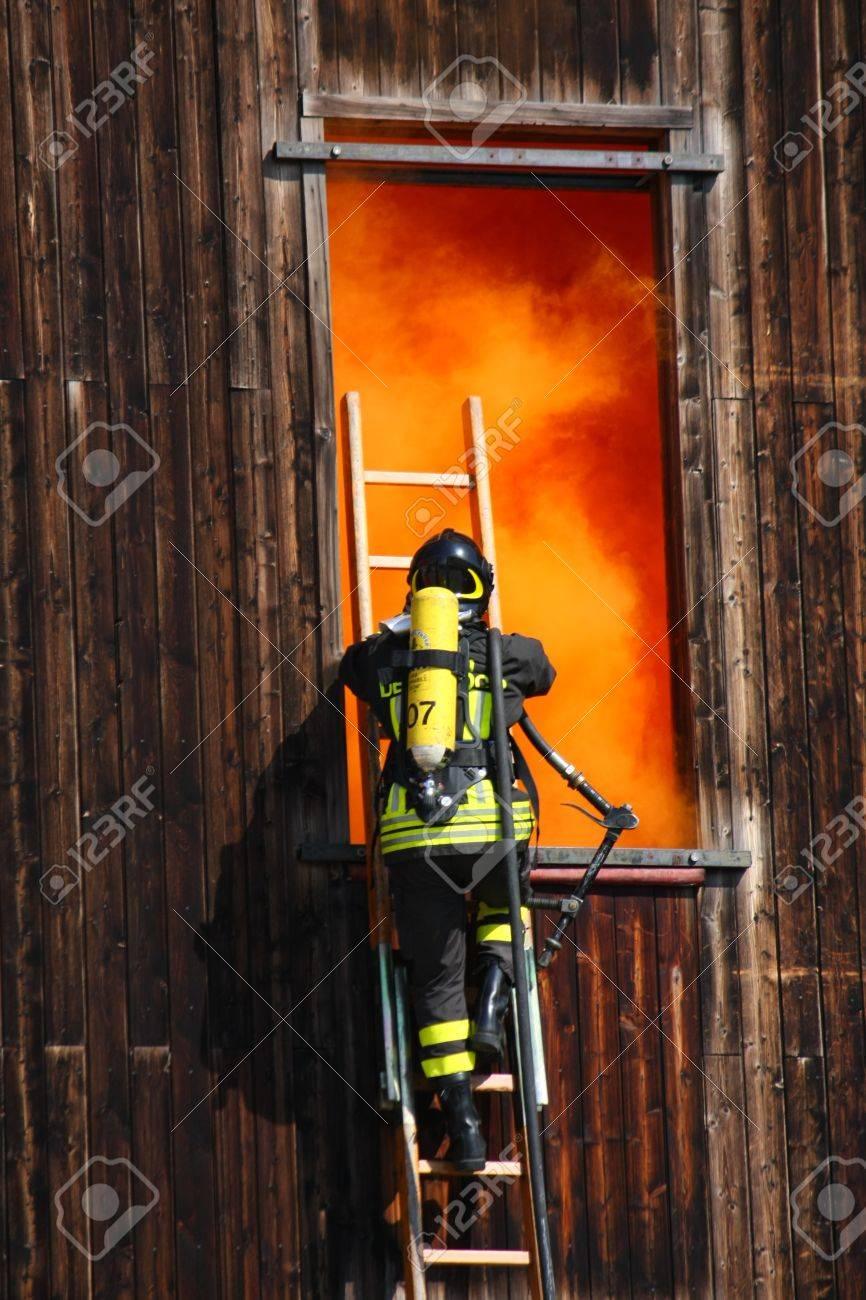 Botella de bomberos