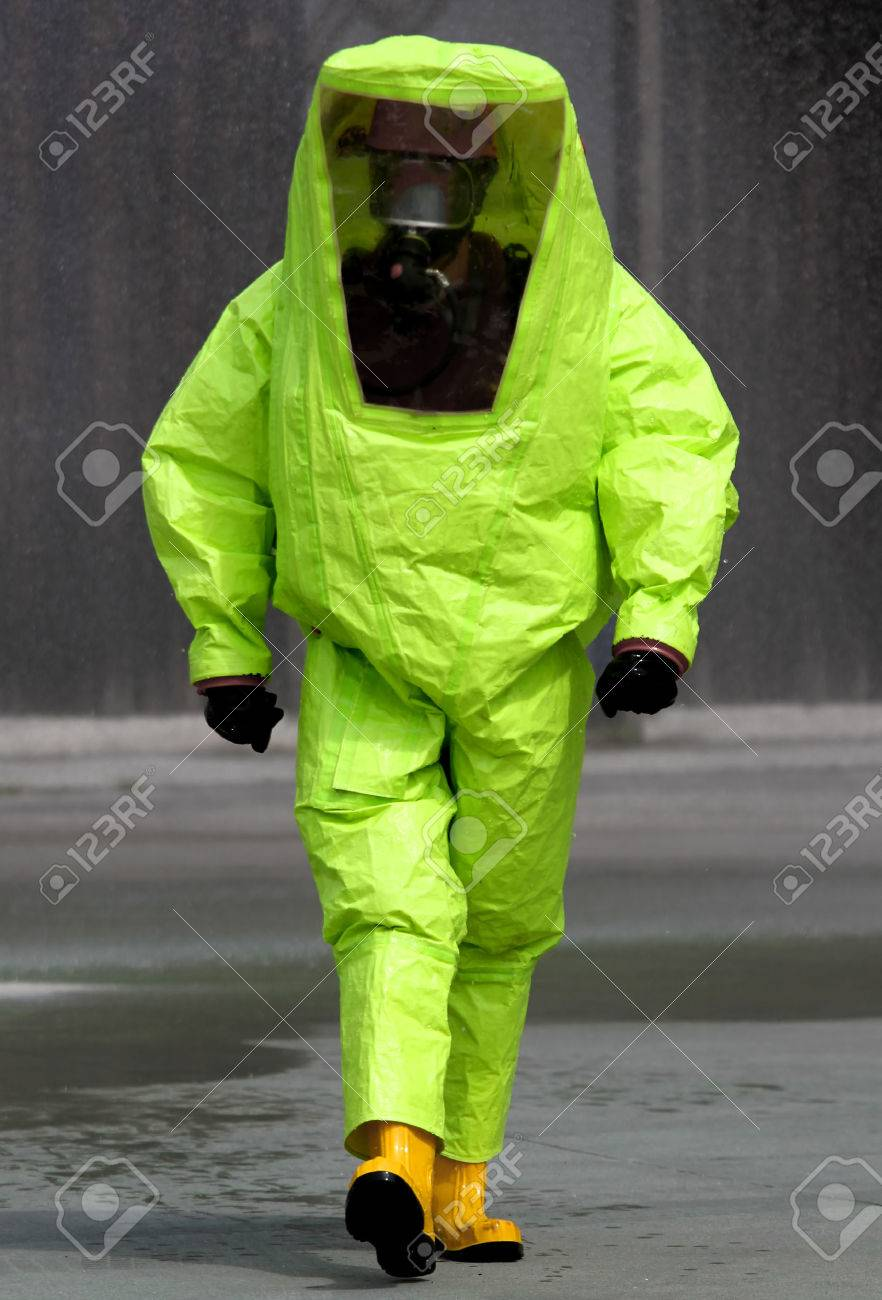 expert during the surgery in an area contaminated by very dangerous biological agents Stock Photo - 28758728