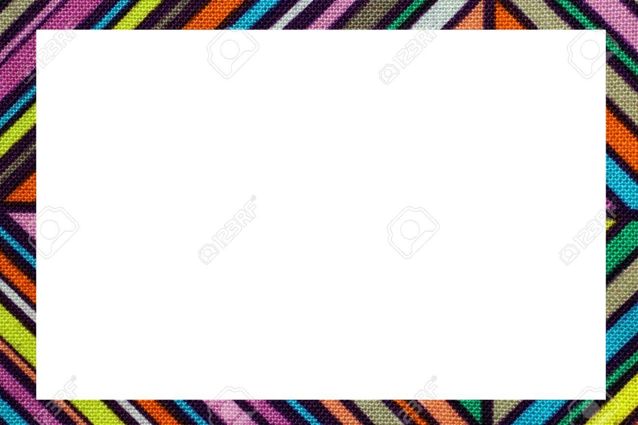 Color Oblique Lines Nice Frame With Blanck Space To Write Your
