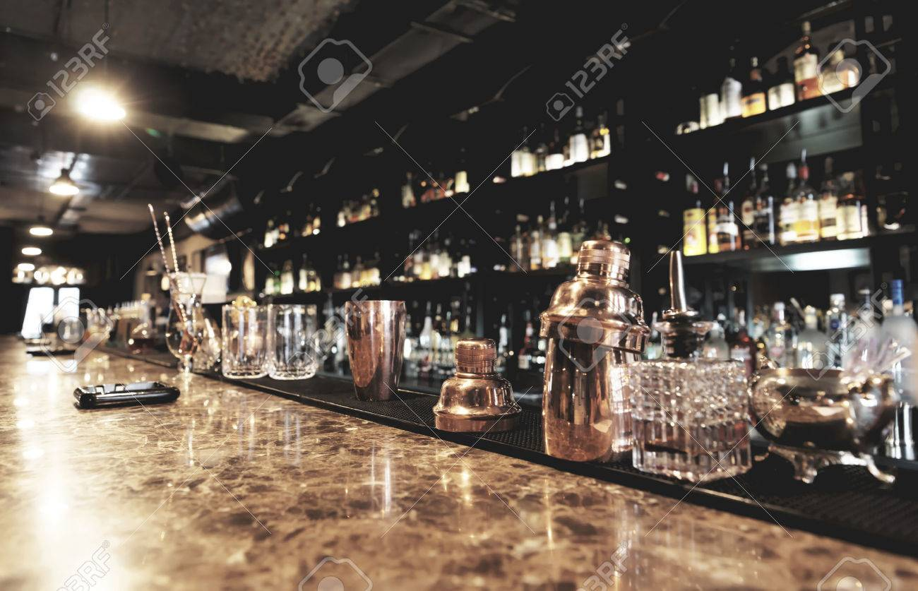Bar Counter Stock Photos. Royalty Free Bar Counter Images