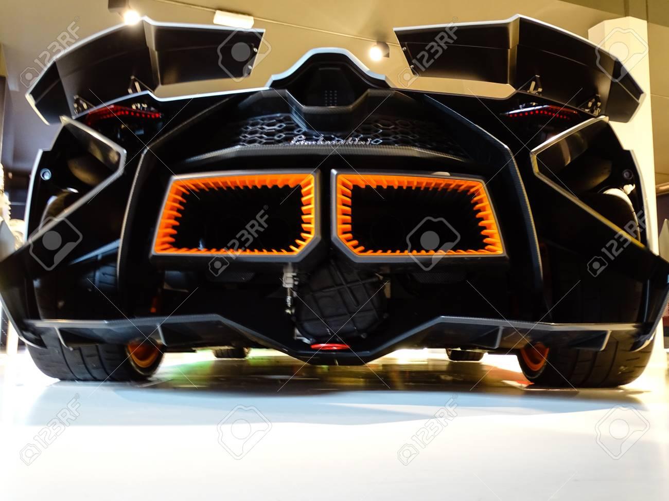 Sant Agata Bolognese Italy November 2016 Lamborghini Museum