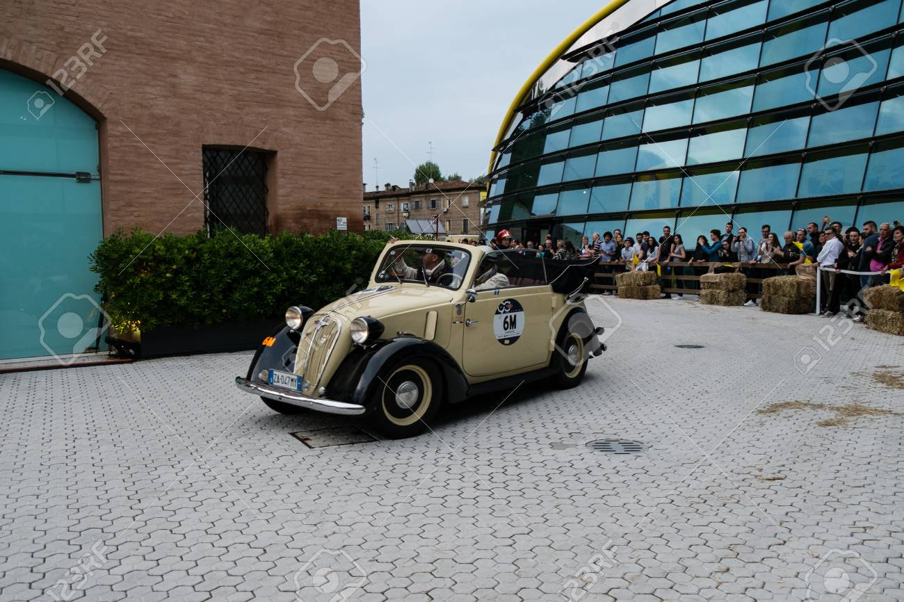 """MODENA, ITALY - May 20, 2017. FIAT 508 C """"NUOVA BALILLA"""".. Stock ..."""