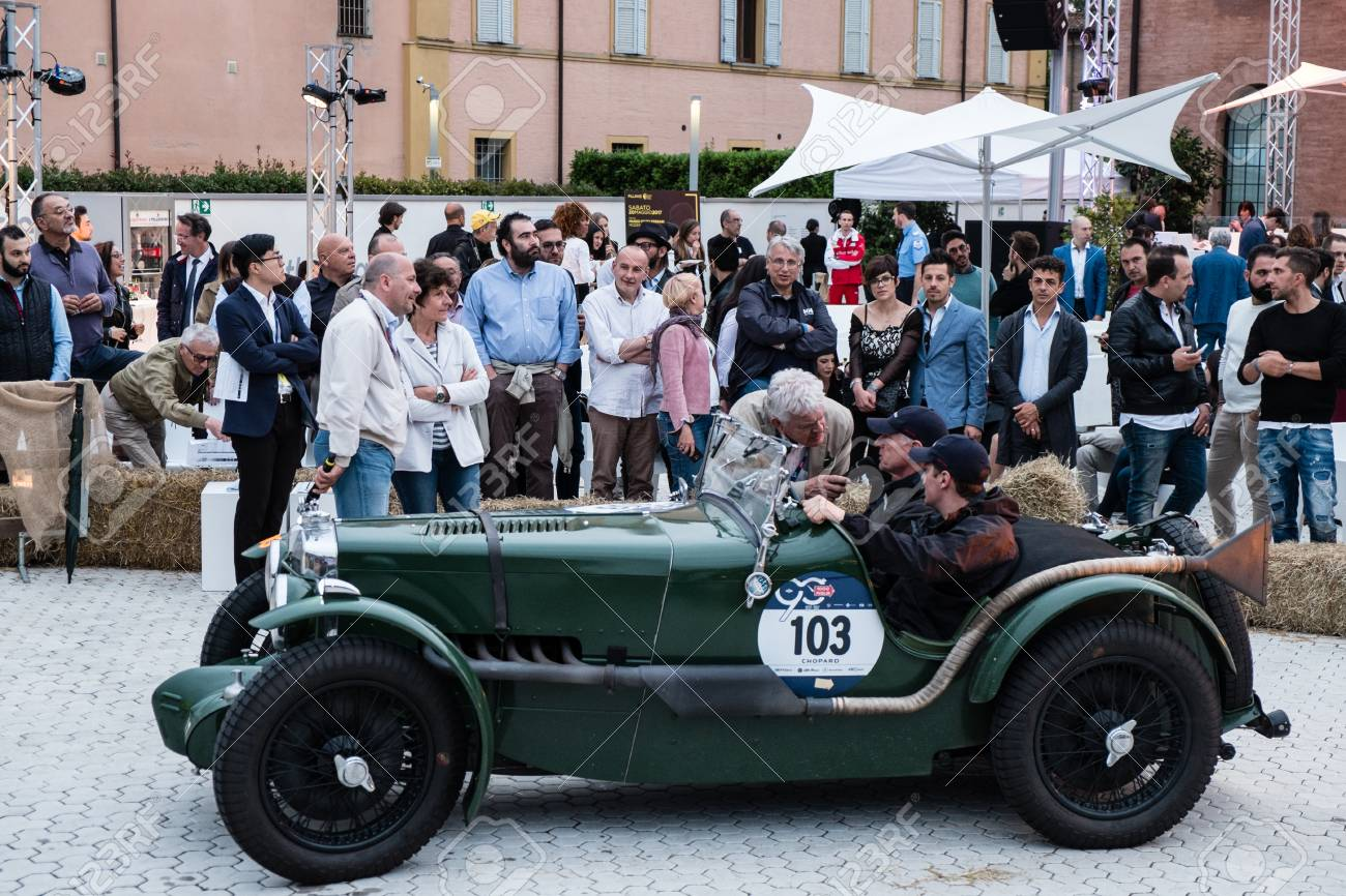 MODENA, ITALY - May 20, 2017. MG K3 MAGNETTE An Old Racing Car ...