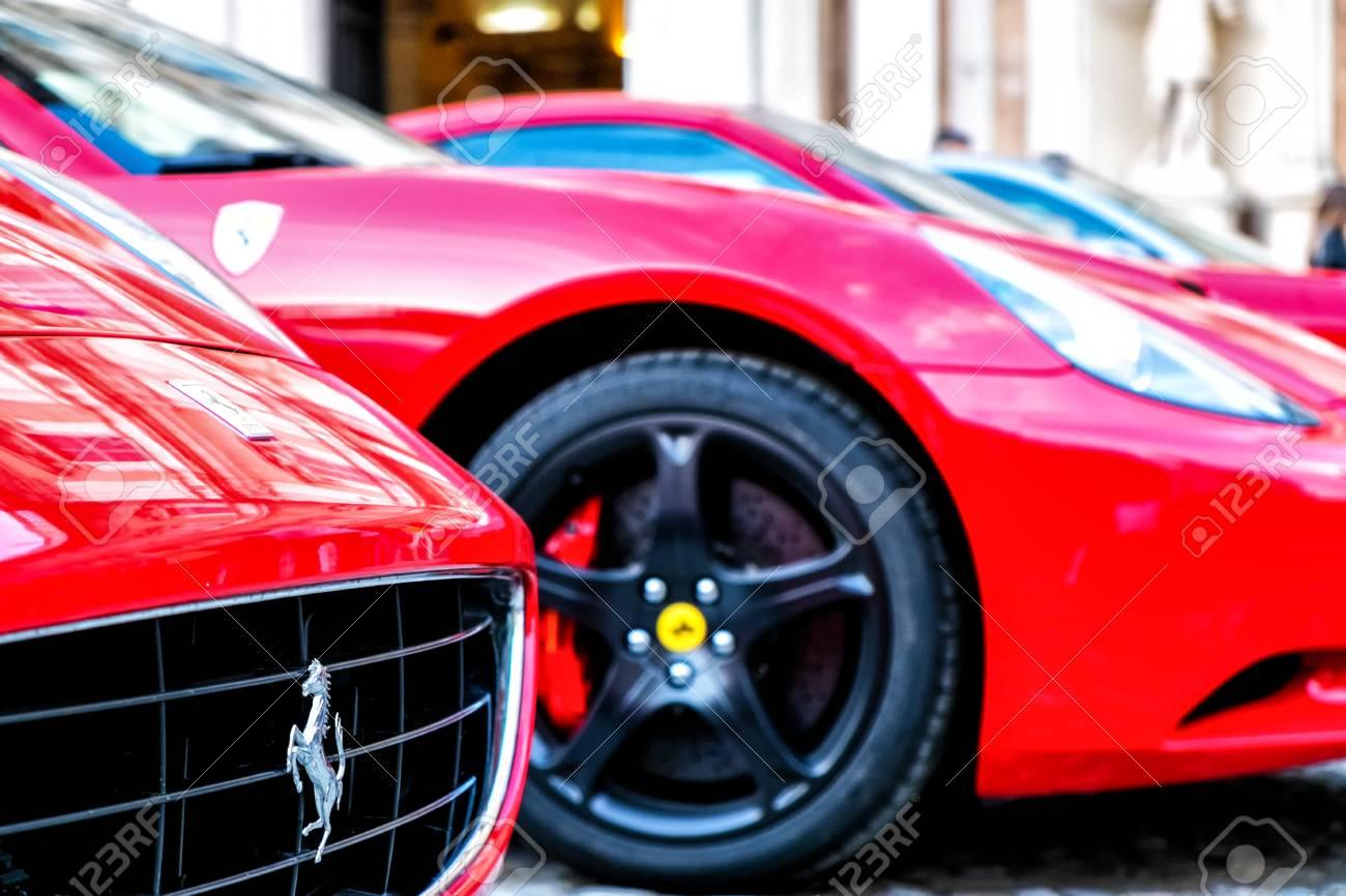 Ferrari car shop