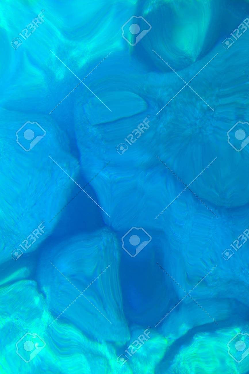 stones under water, abstract pattern Stock Photo - 21435243