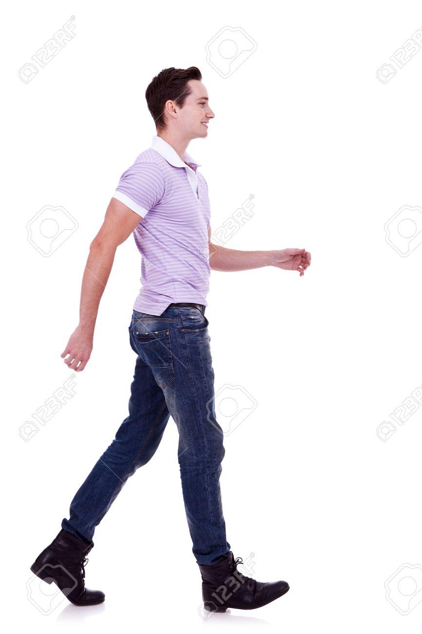 человек идущий картинки