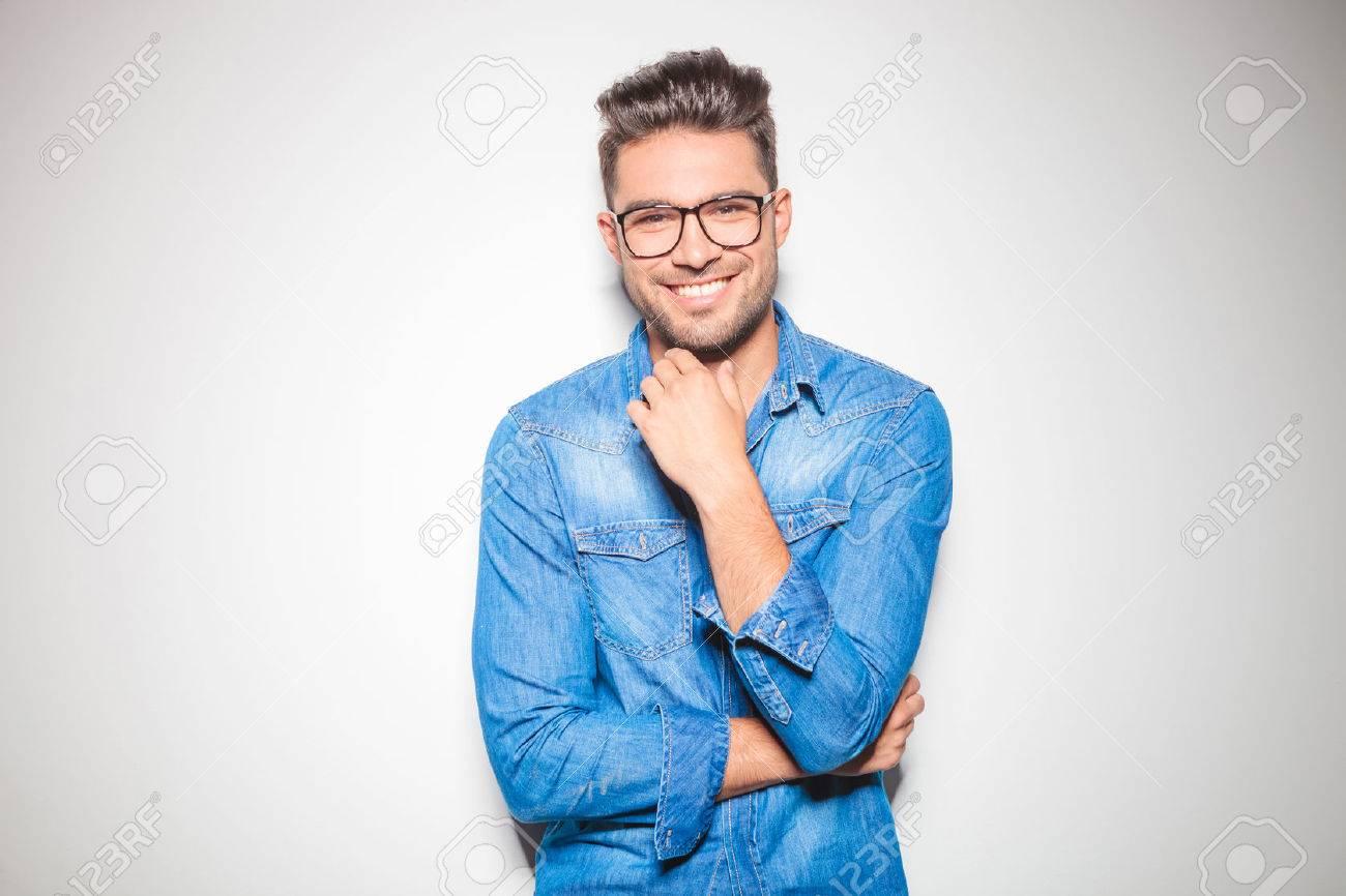 daacf2ee5de Beautiful Young Man Wearing Glasses