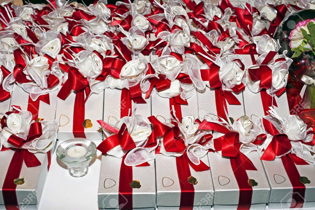Wedding favour ready for the end of the ceremony at night Stock Photo - 11185936