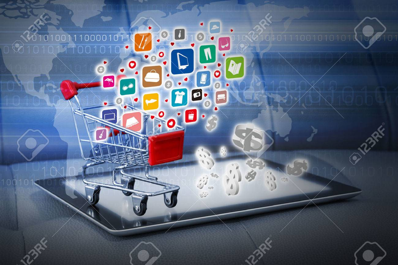 Shopping online concepts - 40229555