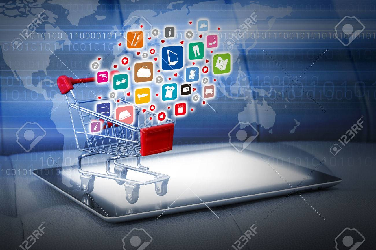 Shopping online concepts - 40229557