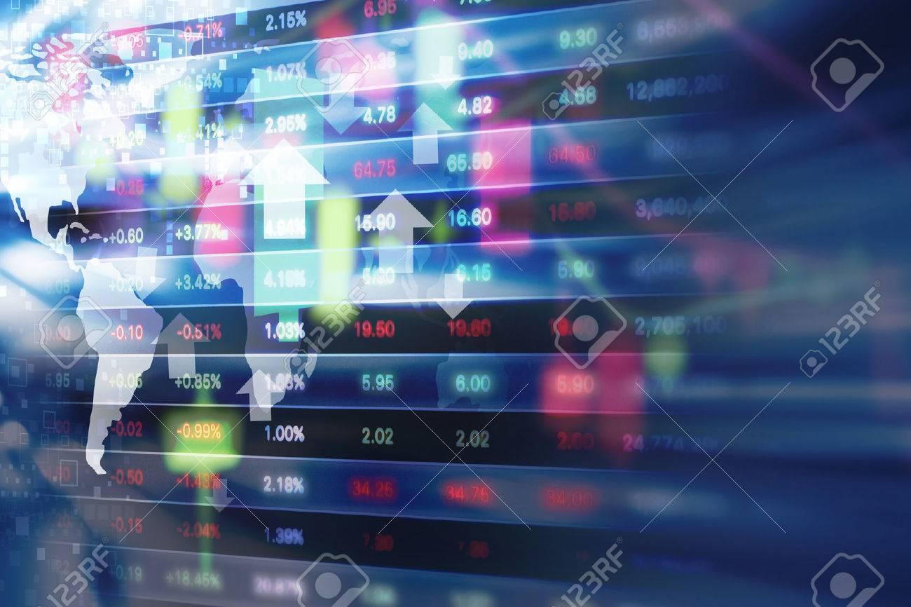 Stock market background design - 62676479