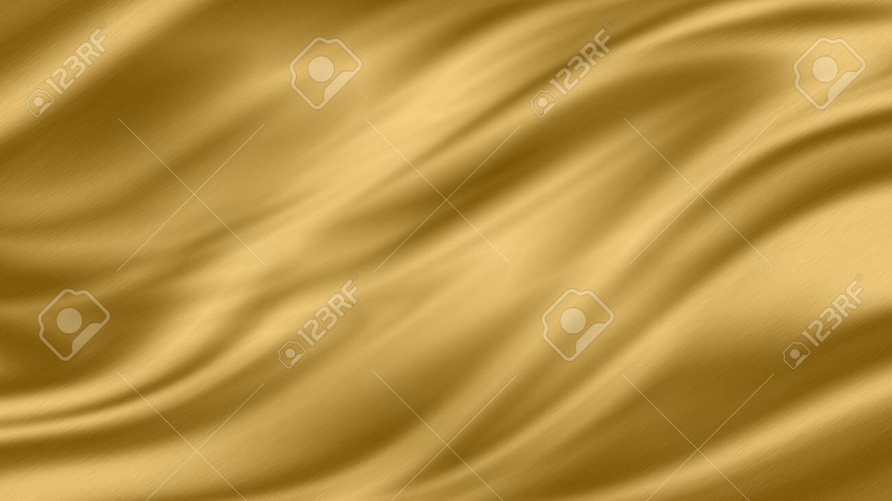 Gold luxury fabric background with copy space - 142184458