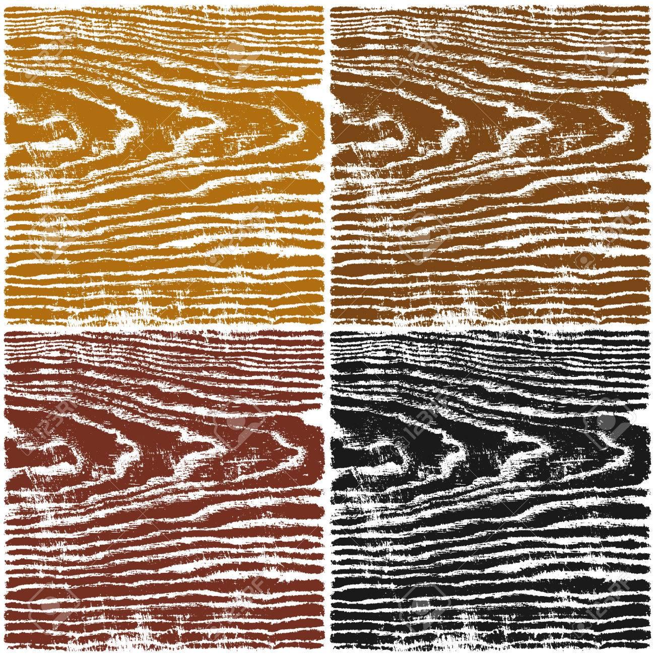 Holz Textur Hintergrund. Set 04 Leere Vorlage Für Das Mustermuster ...