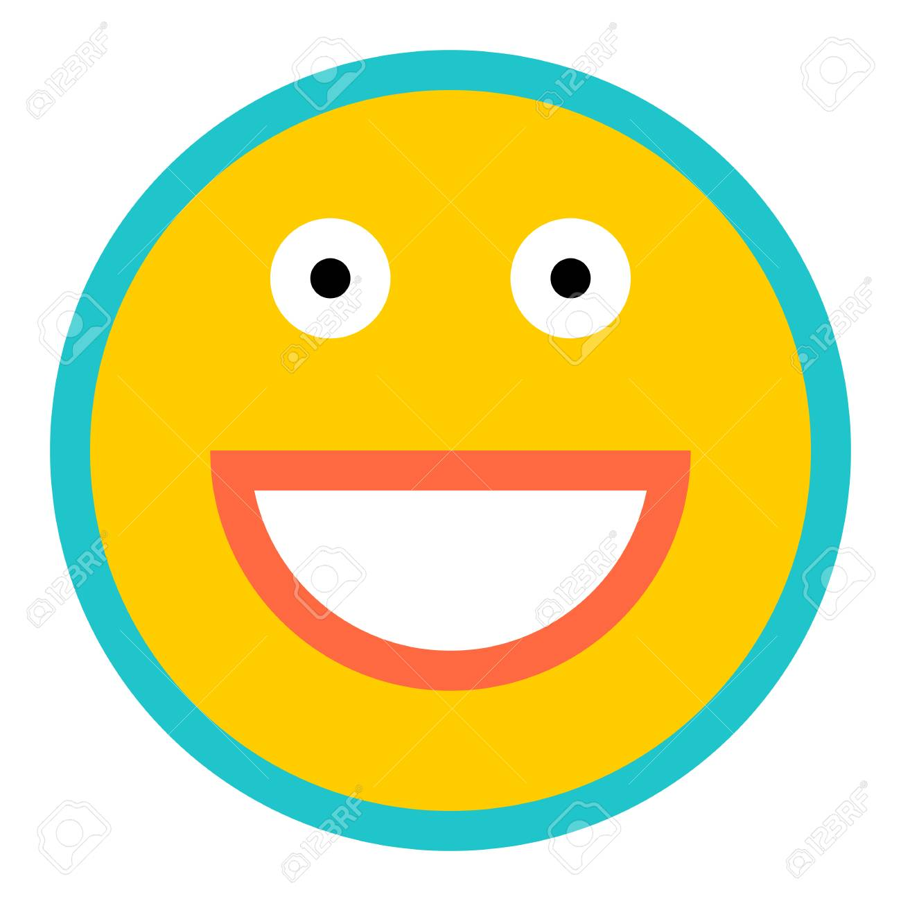 Use It In All Your Designs Smiley Happy Smiling Face Emoticon