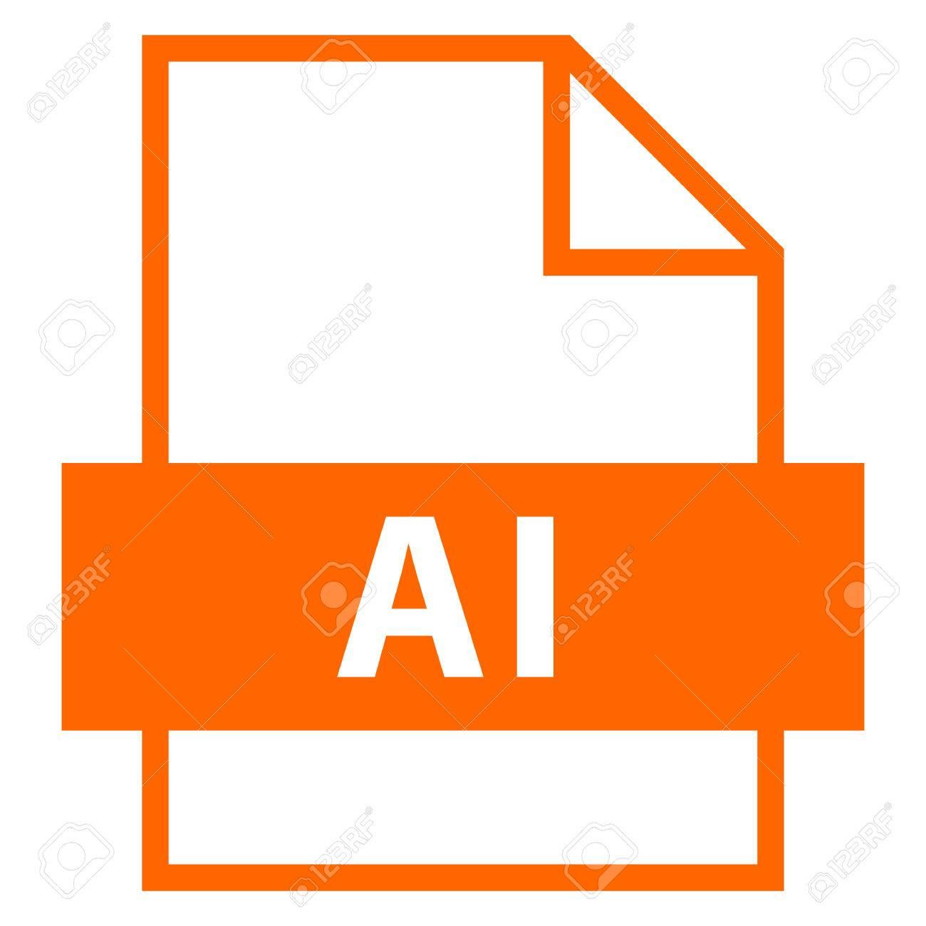 Use it in all your designs  Filename extension icon AI Adobe