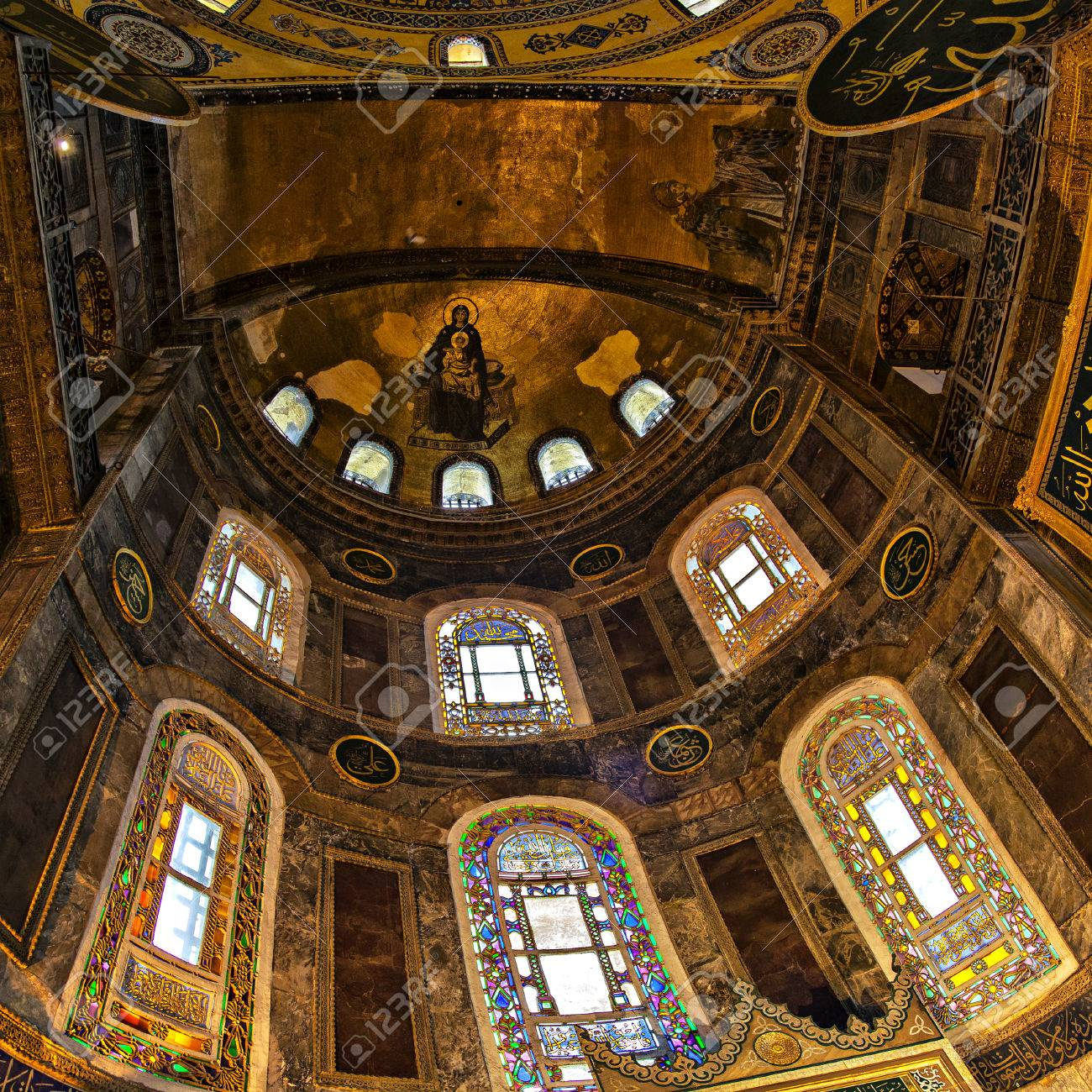 http://previews.123rf.com/images/feferoni/feferoni1502/feferoni150200006/36220238-Image-of-Hagia-Sofia-inside-Istanbul-Turkey--Stock-Photo.jpg