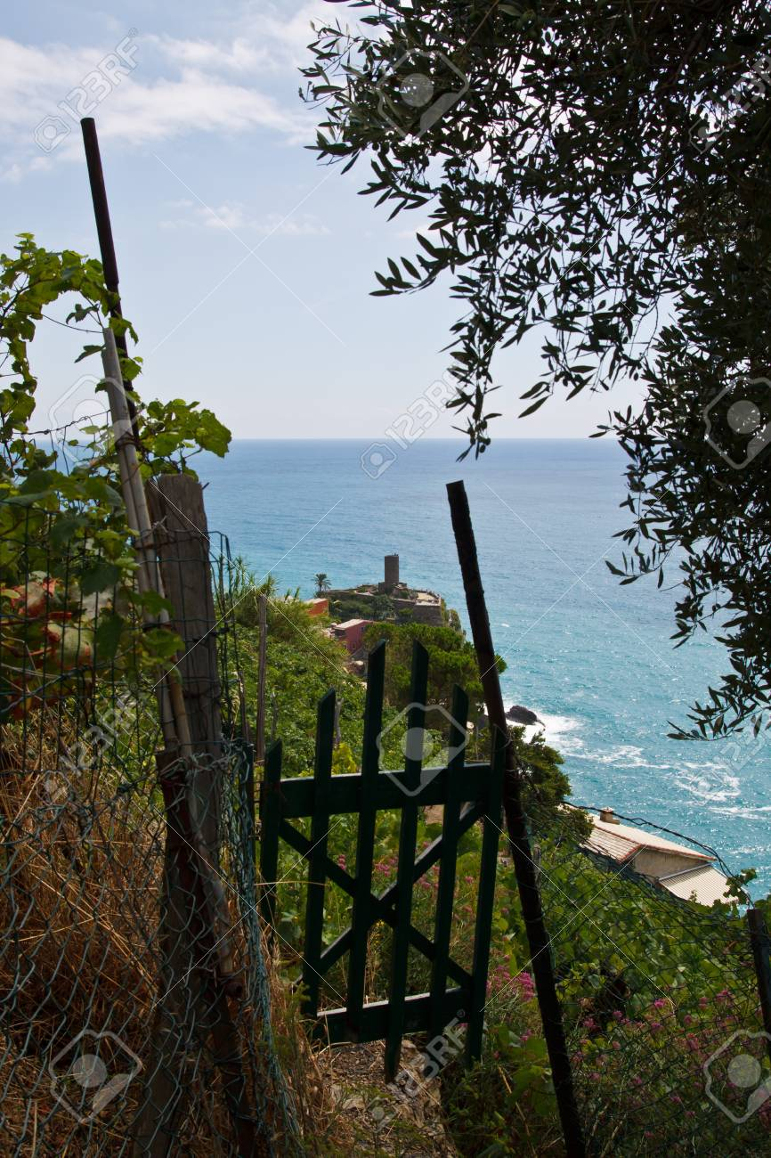 The national park Cinque Terre in Italy Stock Photo - 7986314