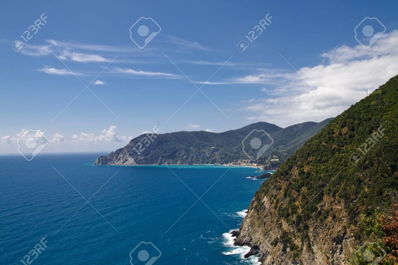 The national park Cinque Terre in Italy Stock Photo - 7986338