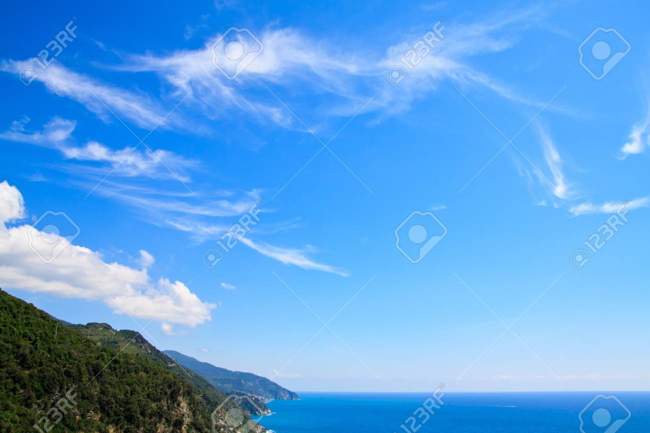 The national park Cinque Terre in Italy Stock Photo - 7986337