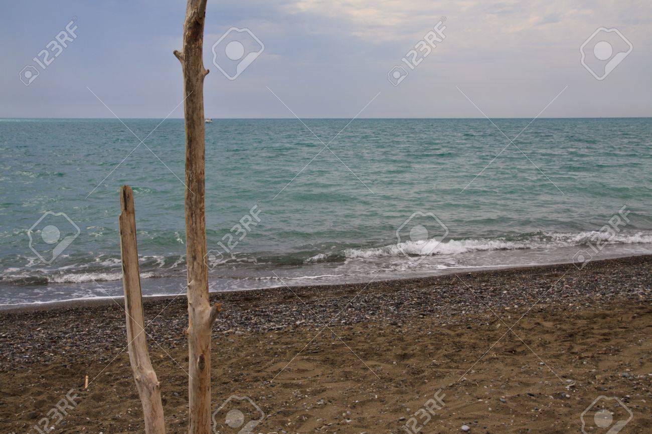 Cecina beach. Tuscany, Italy Stock Photo - 7860910