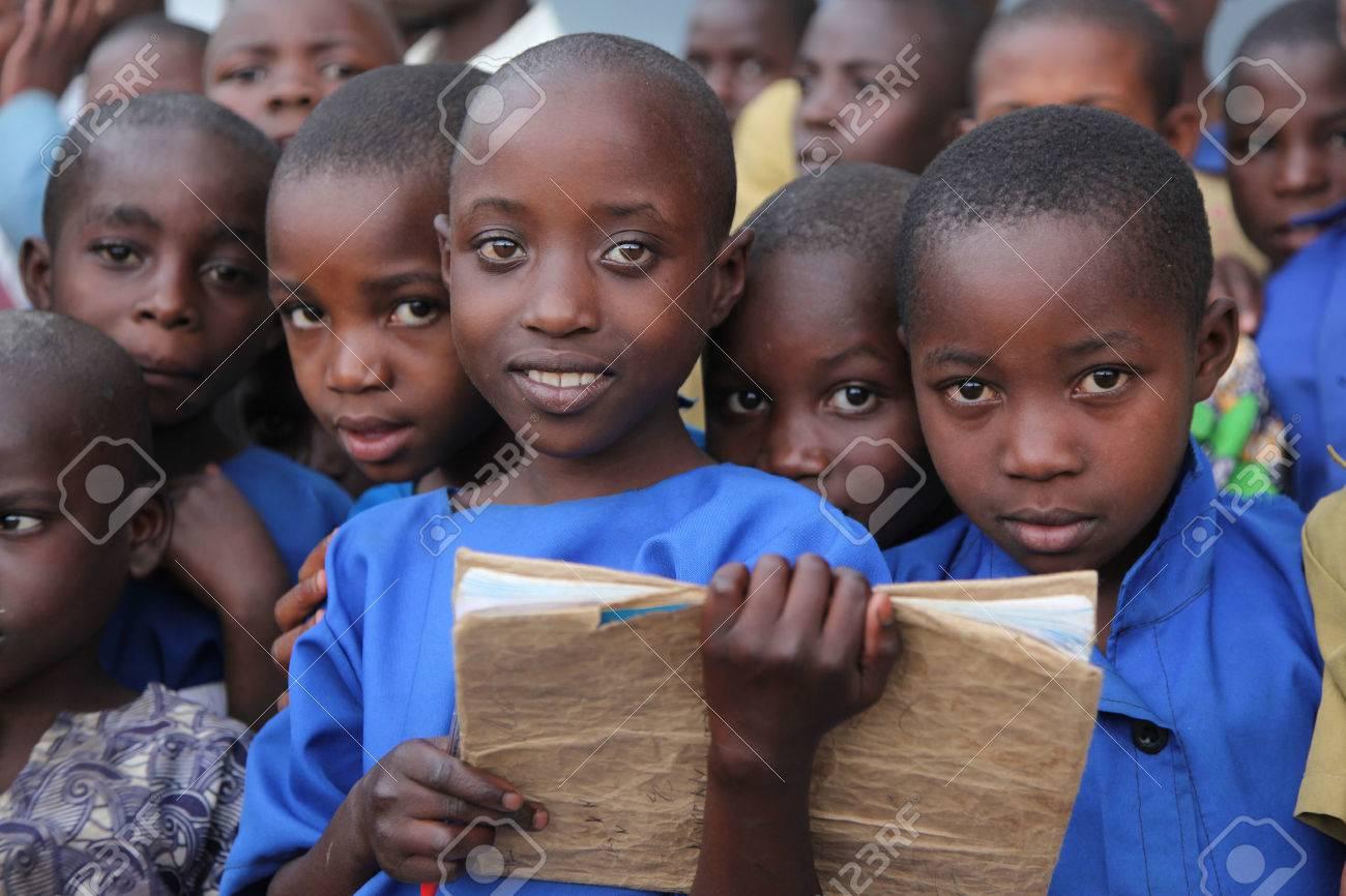Children at school, Africa - 51774651