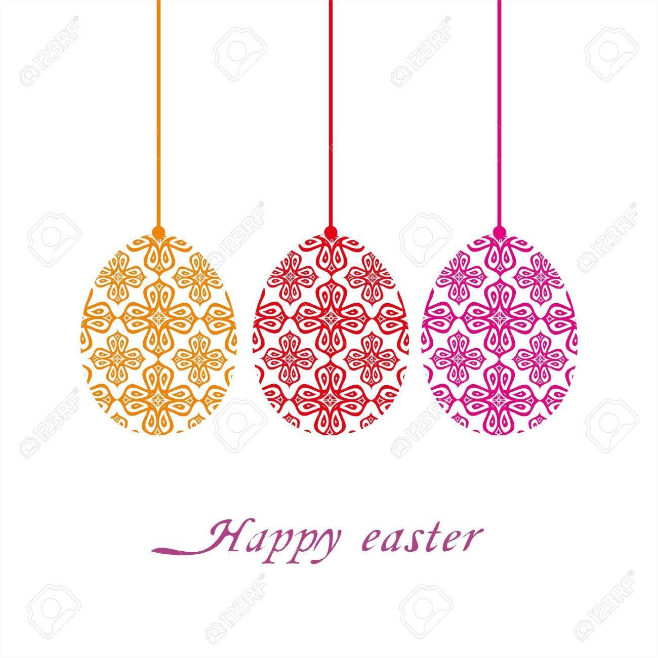 Easter Egg Stock Vector - 12749452