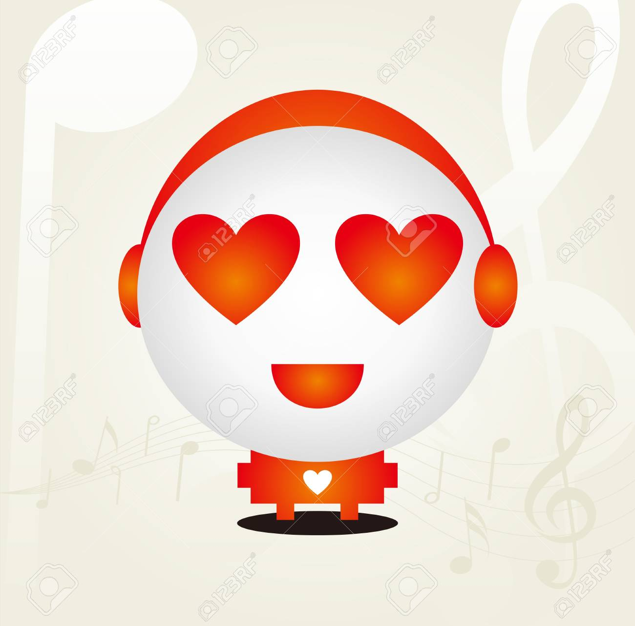 Love doll design Stock Vector - 12749116