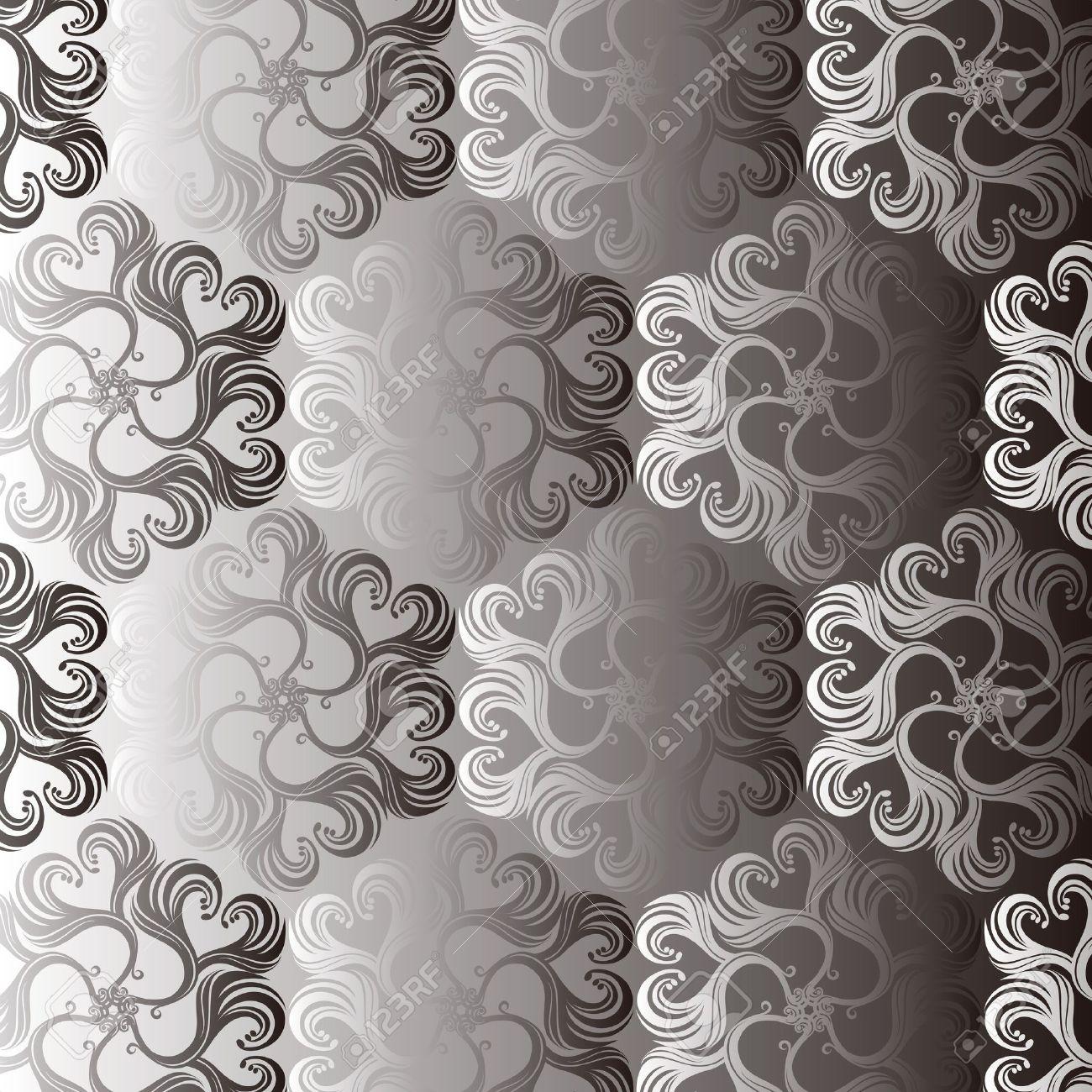 Seamless Damask wallpaper Stock Vector - 12749572