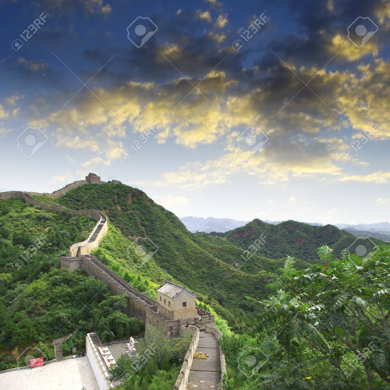 Beijing Great Wall of China Stock Photo - 17168186