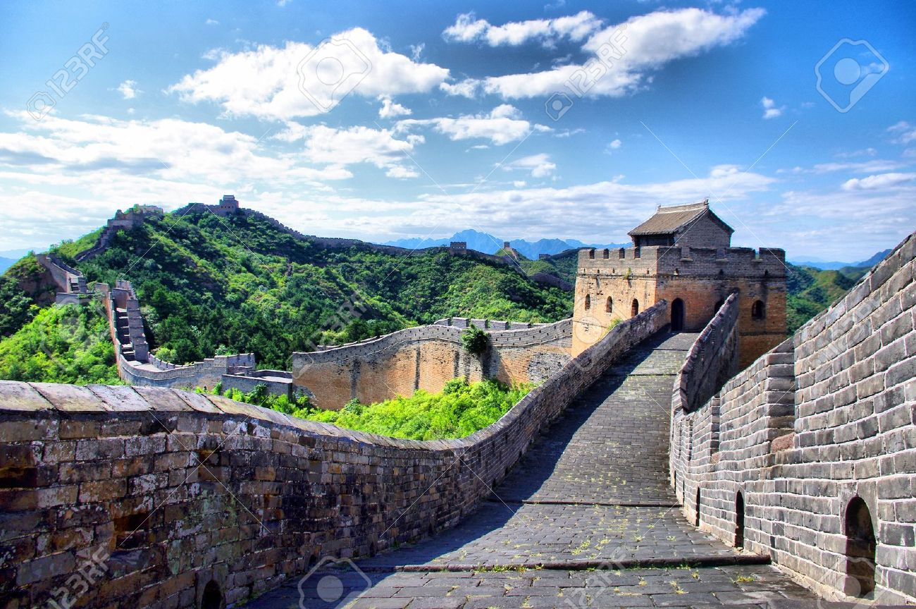 写真素材 , 北京万里の長城