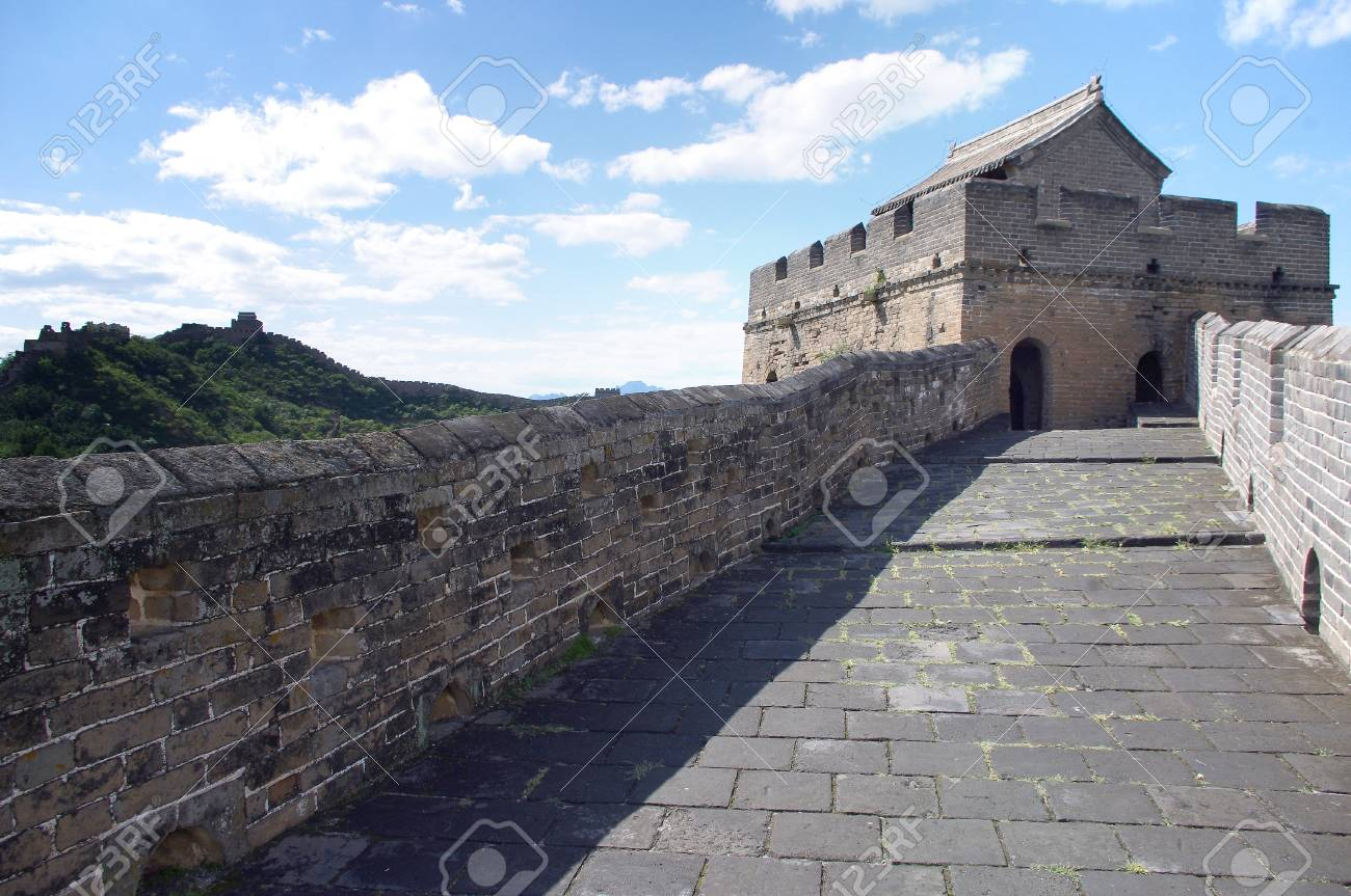 Beijing Great Wall of China Stock Photo - 17497732