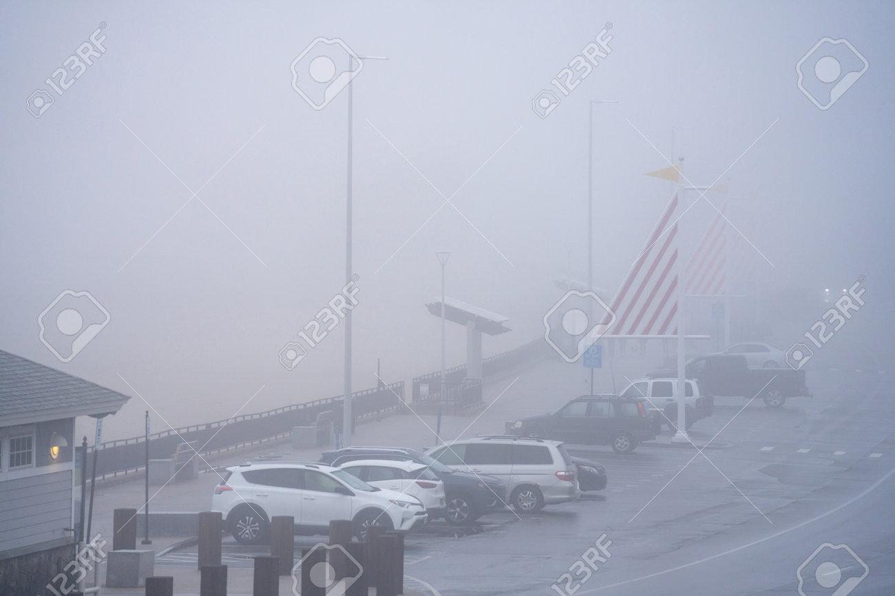 Winter scene in Hampton Beach NH USA - 161260350