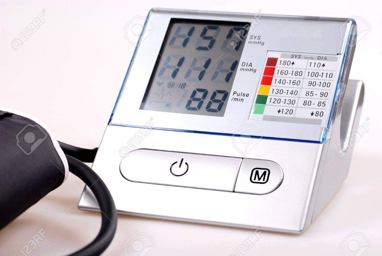 A digital tonometer Stock Photo - 10515751