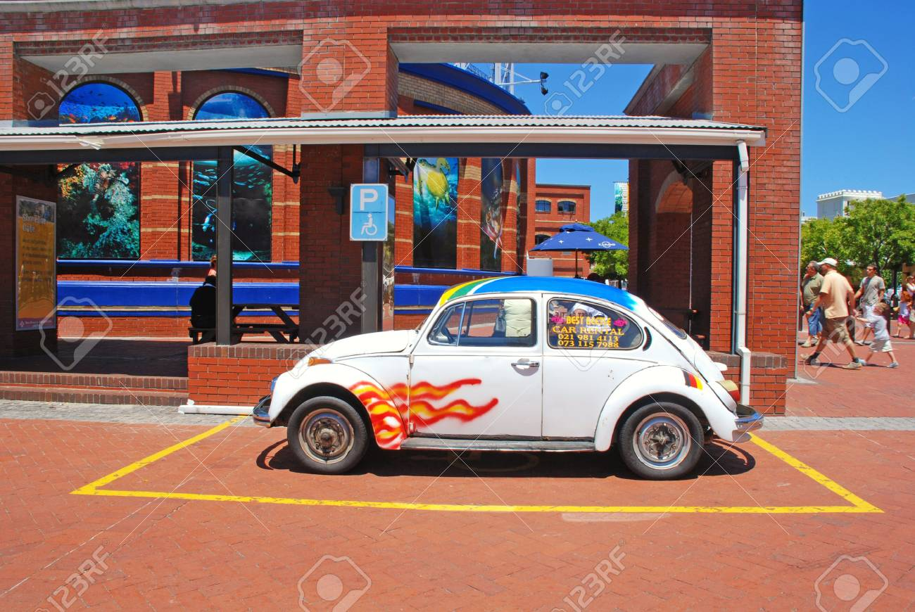 CAPE TOWN, SOUTH AFRICA - DECEMBER 30, 2007: Small Vintage Car ...