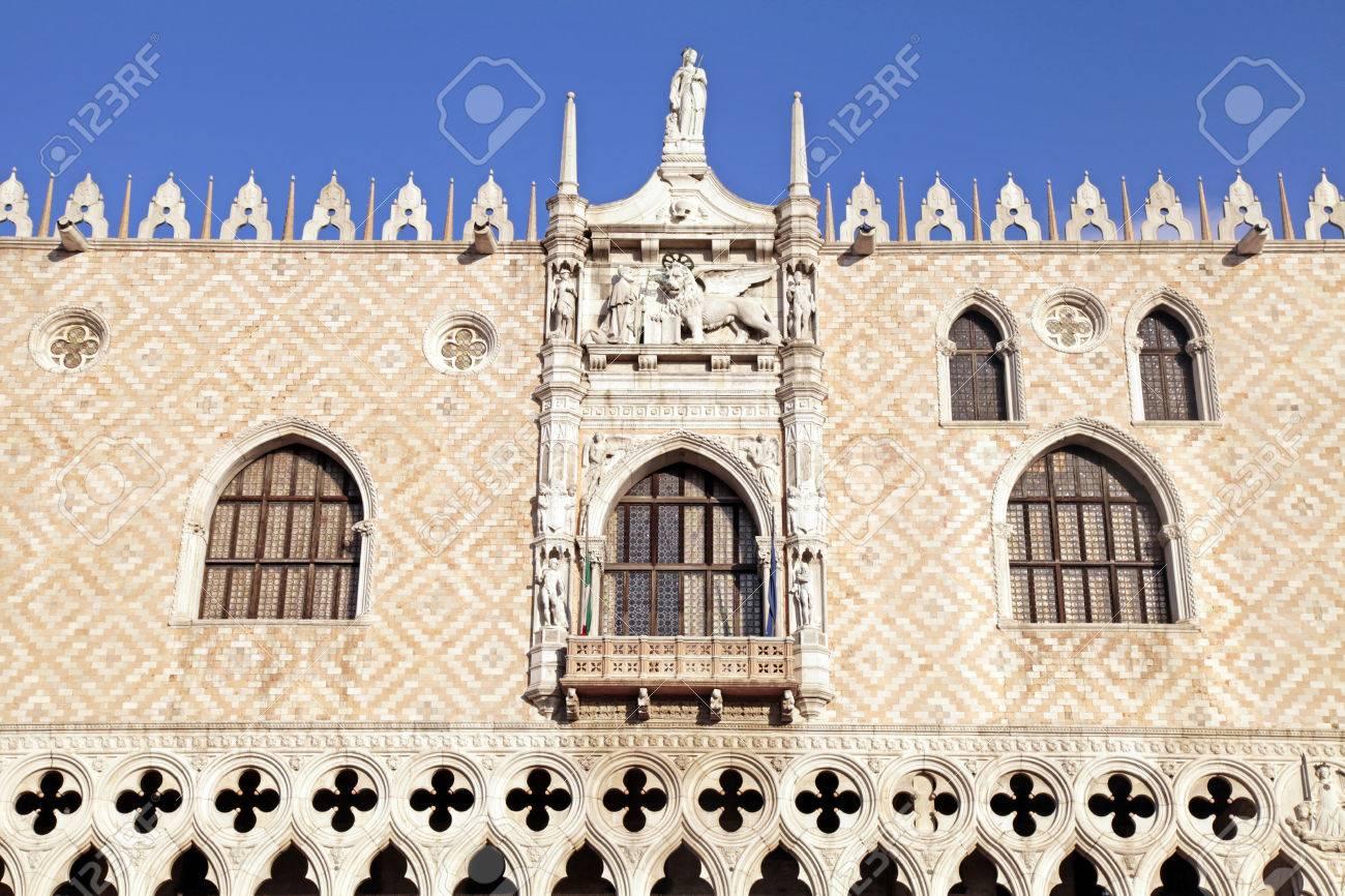 Venetian Gothic venetian gothic architecture of the doge's palace (italian palazzo